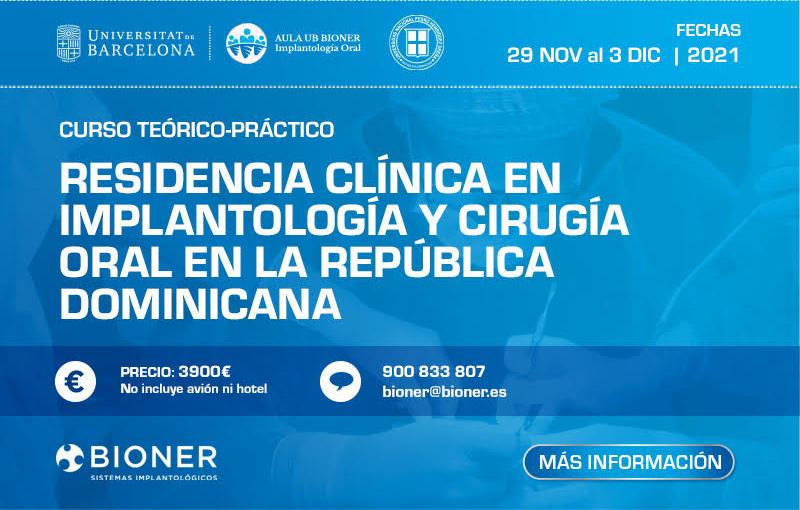 Residencia Clínica en Implantología y Cirugía Oral en República Dominicana